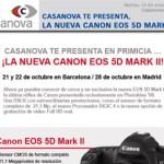 ¿Quieres ver la nueva canon 5D mkII?