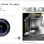 Leica M8: enfocando con un visor de telémetro