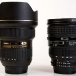 Angulares de Nikon: probando nuevos juguetes