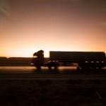 Aventura en Jordania: escenas de autopista