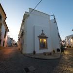 Las dos calles en Crato, Alentejo