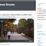 Vídeo y cámaras reflex: los periodistas lo cuentan en DLSR News Shooter