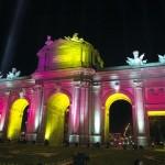 La Puerta de Alcalá con otra luz
