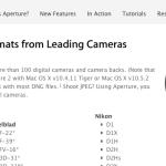 Apple Aperture: disfrútalo… si puedes