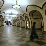 Moscú: sola en el metro