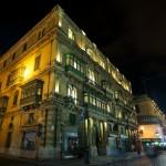 Malta: La Valeta en la noche (1)