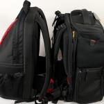 Duelo de mochilas: Benro B 400 contra Lowepro Fastpack 250; interior