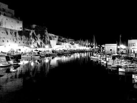 Ciudadela la nuit