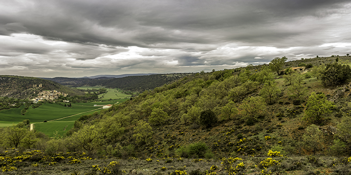 Pelegrina, Guadalajara. Panorámica de 4 fotografías.             Proporción 1:2              © Alberto Honing