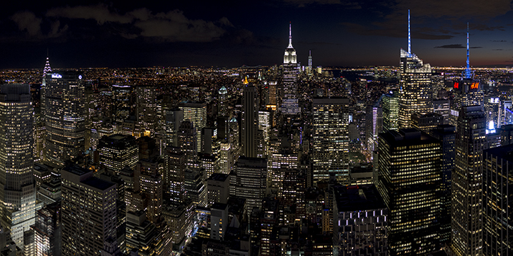 Vista desde el Top Of The Rock. © Alberto Honing