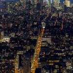 Una vista de New York en modo M.