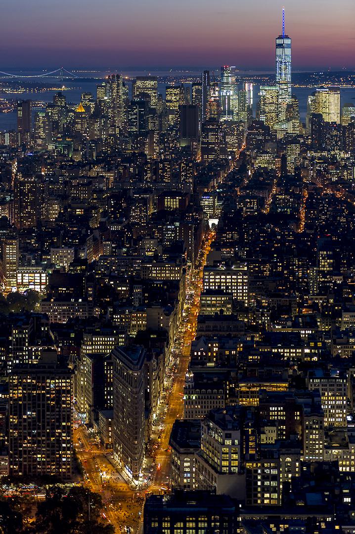 Vista desde el Empire State Building. © Alberto Honing